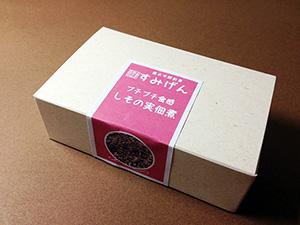 彩り小箱 しその実佃煮 パッケージ