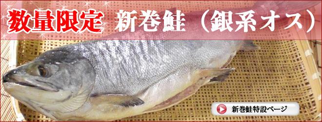 数量限定 山漬の特級品 新巻鮭